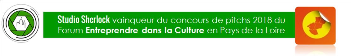Studio Sherlock, vainqueur du concours de pitchs du Forum Entreprendre dans la culture en Pays de la Loire