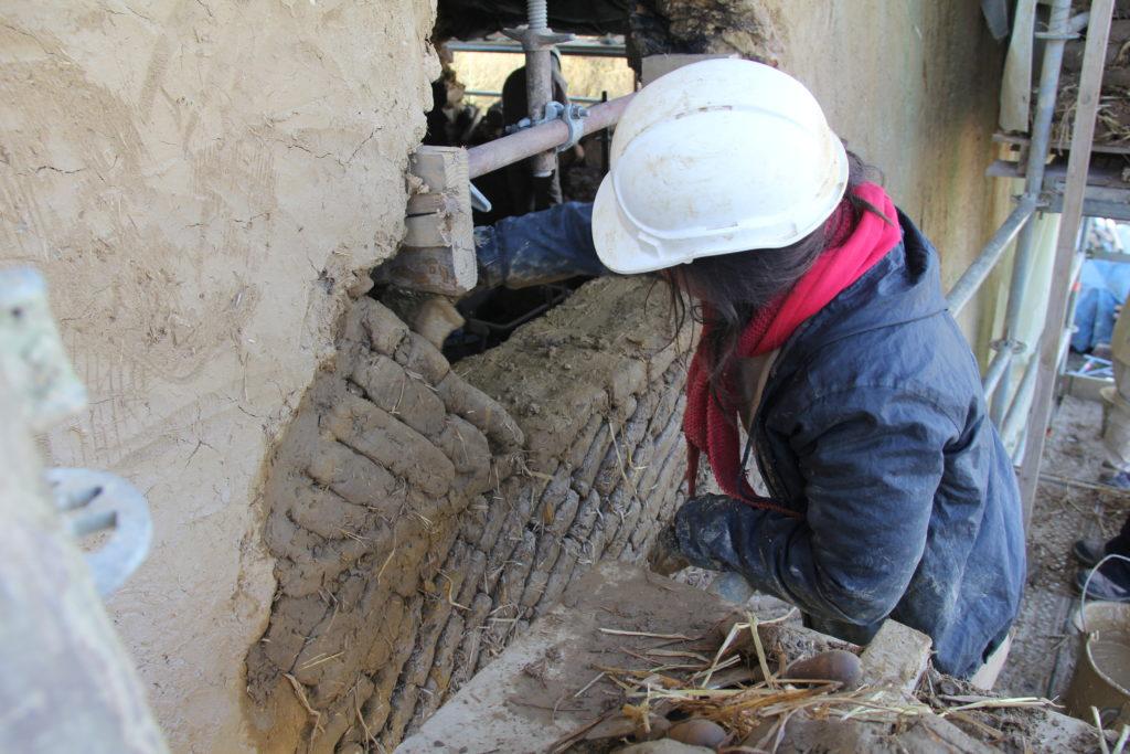 Manoir du Boberil chantier de restauration joournées européennes du patrimoine 2019