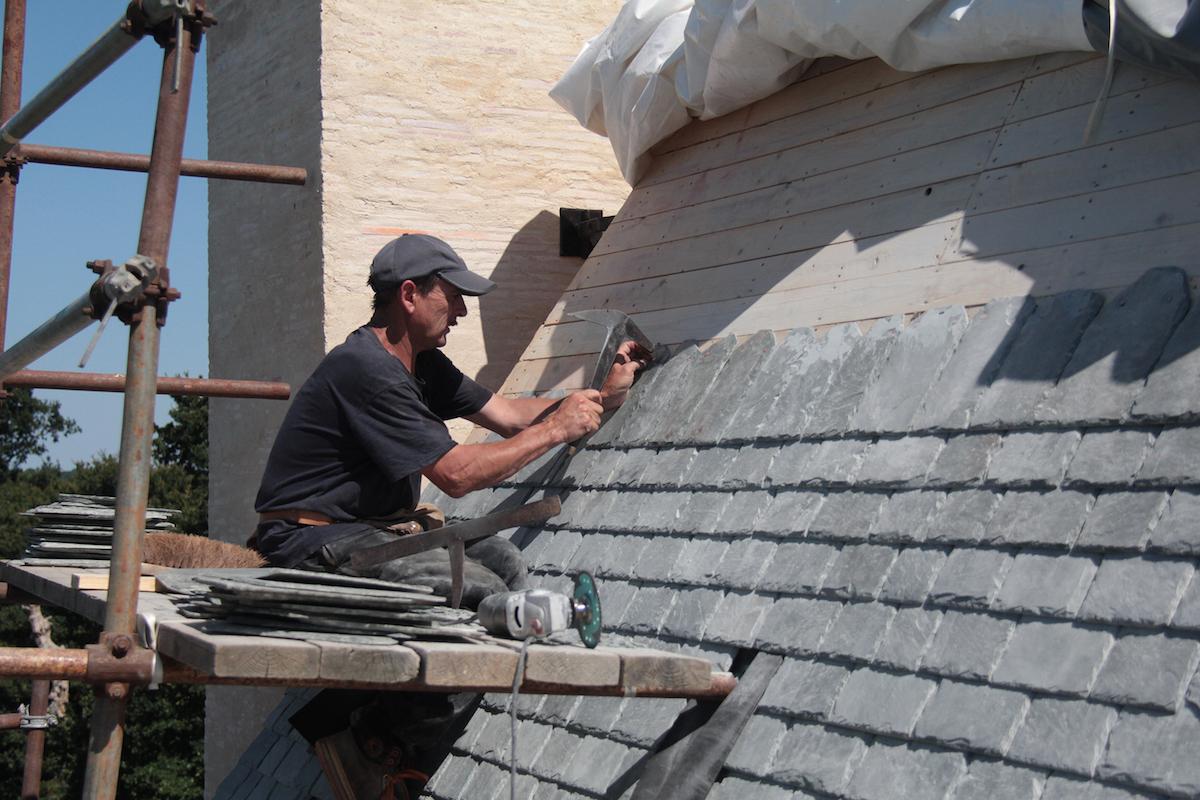 Manoir du Boberil chantier de restauration journées européennes du patrimoine 2019